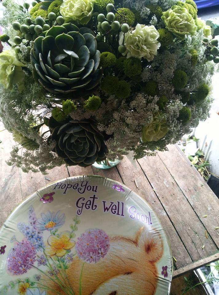Get Well soon Flowers   LJJ Flower Shop