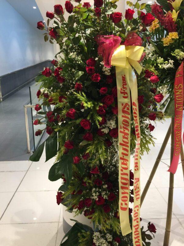 Inauguration Flowers #119