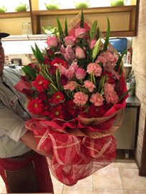 Affordable flower delivery to office