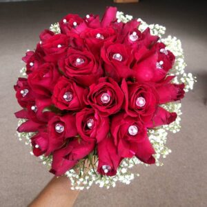 Red Roses for Wedding Makati Shangri-la