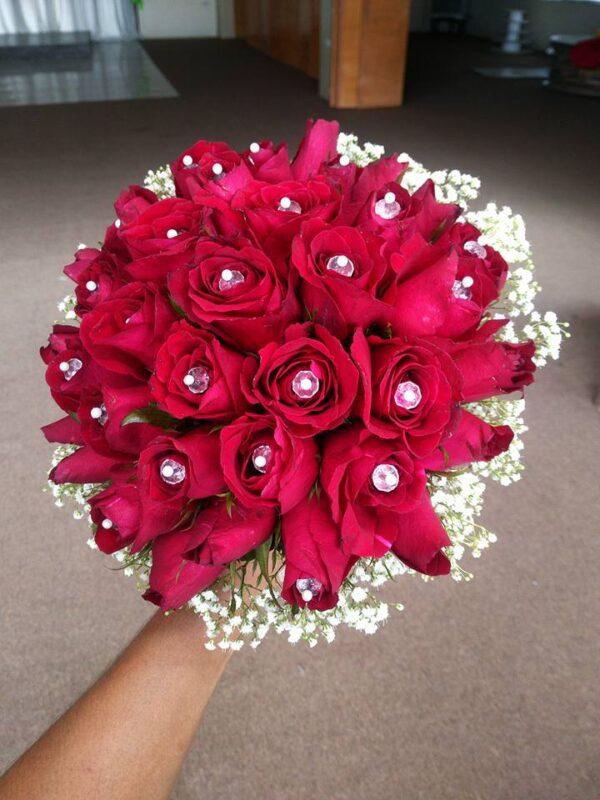 Red Roses for Wedding Makati Shangri-la