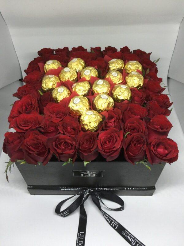 Box of Roses #206
