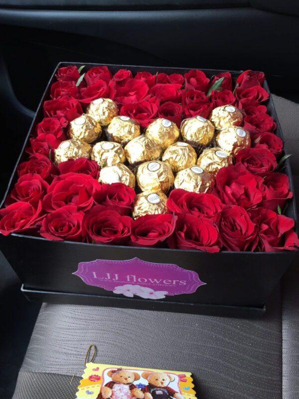 Box of Roses #207