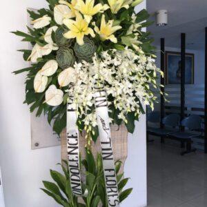 Funeral Flowers #103