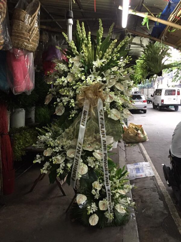 Funeral Flowers #104