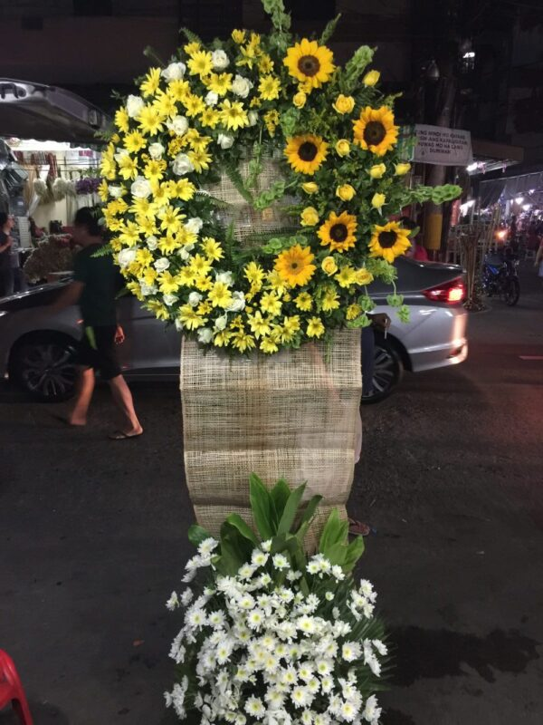 Funeral Flowers #107