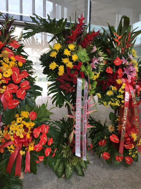 Inauguration Flowers #103