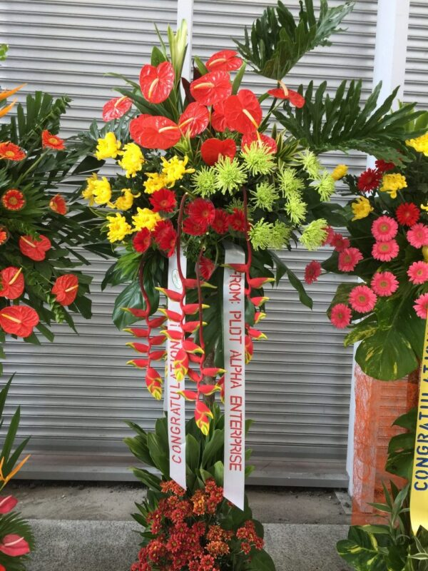 Inauguration Flowers #122