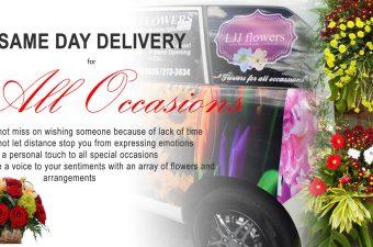 LJJ Flower Shop Delivery Service - slide5